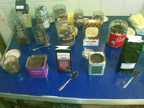La prima collezione di tè miei e di Morgan